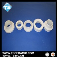 aluminum titanate bushing for aluminum foundry