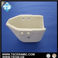 aluminum titanate ceramic ladle for aluminum foundry