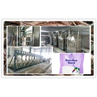 Kudzu Root Starch / Tube Root Starch Processing Line