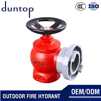 China Quality Assurance Red Color Fire Hydrant Cabinet Fire Hose Pillar Outdoor Fire Hydrant Pipe