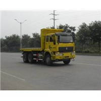 flated truck  tipper truck 6x4