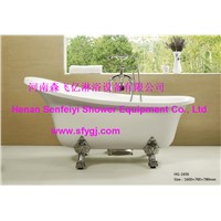 Acrylic classical princess massage bathtub SFY-HG-1036