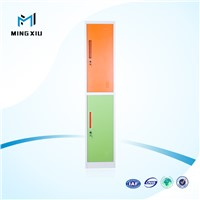 Mingxiu high quality 2 door industrial metal storage cabinets / 2 door metal locker
