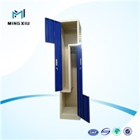 Factory supply 2 door metal lockers storage cabinets / metal double door locker