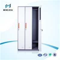 Mingxiu low high quality industrial metal storage cabinets / 3 door metal locker