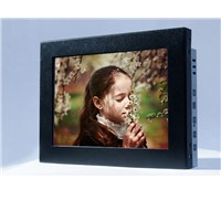 (8-47'') 8 inch anti-glare vandalproof Aluminum frame  saw touch screen monitor
