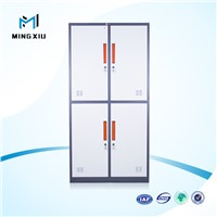 China supplier high quality used steel storage cabinets / 4 door steel locker