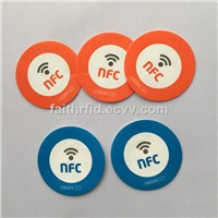 ANTI-METAL HARD PVC NFC TAG CARDS