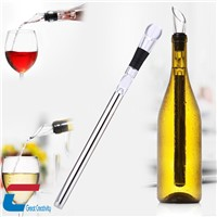 Wine Accessories Stick Wine milk Cooler chiller with Pourer and wine stopper