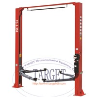 Two Post Clear Floor Auto Lifts /Asymmetrical Two Post Car Lift TG-2-35B