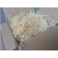 Supply Cheap Price Wood Wool for Food Glass Protective Packing Filing Material