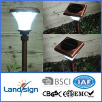 2016 landsign hot-selling solar led lawn light XLTD-907C