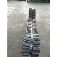 rubber tracks for well drill HDD ZT-18   350*52.5*104