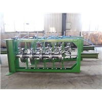 Tyre cooling inflatable setting machine after vulcanizing