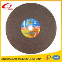 resin bond cutting wheel for stainless steel