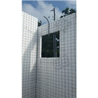 hot sell 3D EPS welded mesh wall panel