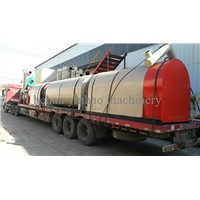 Continuous sawdust carbonization furnace Raw material of wood carbonization furnace