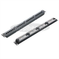 RJ45 FTP UTP Cat5e Cat6 24 Port Cat 6 Patch Panel
