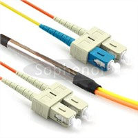 SC MM to SC SM duplex optic patch cord mode condition patch cords