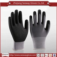 SeeWay 704 Foam Nitrile Coated Palm Grip Gloves Oil Chemical Resistant gloves