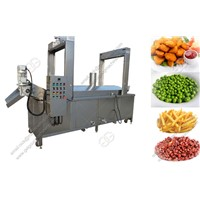 Continuous Automatic Snack Deep Frying Machine