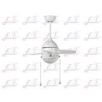 East Fan 26inch Small white Ceiling Fan with light