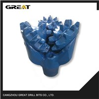 api steel tooth bit drilling machine for steel for soft formation