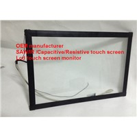 (8-32'') 20 inch low cost  SAW  touch screen panel anti-jam anti-shock  SAW touch screen panel