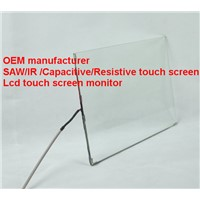 (8-32'') 24 inch durabile high light transmission high accurancy IP 64  saw touch screen panel
