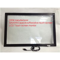 (12.1-100'') 27 inch sunlight readable  anti-static USB  2/4/6/10 touch points   IR touch screen