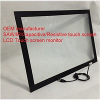 (12.1-85'') 15 inchlight resistance high resolution Plastic frame Infrared touch screen panel