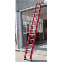EN131 FRP fiberglass extentsion 2 section 3 section Ladder