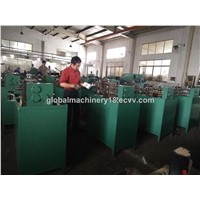 Single locked flexible metal hose making machine