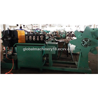 Flexible metal exhaust pipe making machine