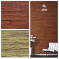 10 colors Natural wallcoverings handmadeWater Hyacinth weave for interior decoration