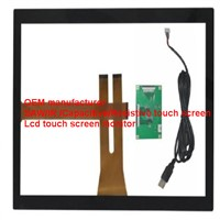 (7-65'') 32 inch EETI Anti-glare anti-dirt projected capacitive touch panel