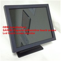 19 inch OSD control 2/4/6/10 touch points  touch screen  monitor