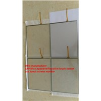 (10.4-22'') 18.5 inch Cheap price High accuracy Double ITO 5-wire resistive touch panel
