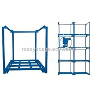 Warehouse Tire Storage Pallet Stacking Frames Folding Rack
