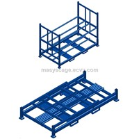Folding Adjustable Storage Metal Car Tyre Pallet Racking