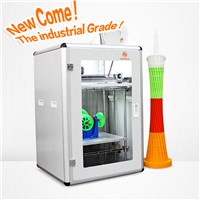 New design Glitar 6S Plus 300*400*500mm large 3d printer for ABS/PLA filament