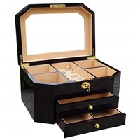 The popular wooden jewellery box with high quality