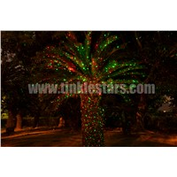 elf laser christmas landscape garden light