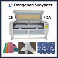 Multi 80w Texitle Laser Cutting Machine for Garment Factory