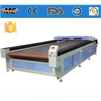 MC1630 CO2 auto feeding laser cutting machine for fabric/leather/rubber/cloth/textile
