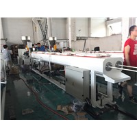 20-50mm pvc dual conduit pipe extrusion machinery