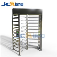 RFID access control 120 degree single channel full height turnstile