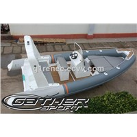 rigid infatable boat 6.8m for sale