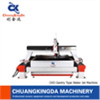 CKD-5 axis cantilever type CNC wterjet cutting machine