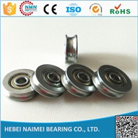 factory price delrin v / u groove wheel bearing 624ZZ 625zz 626zz 608zz  for sliding door and window